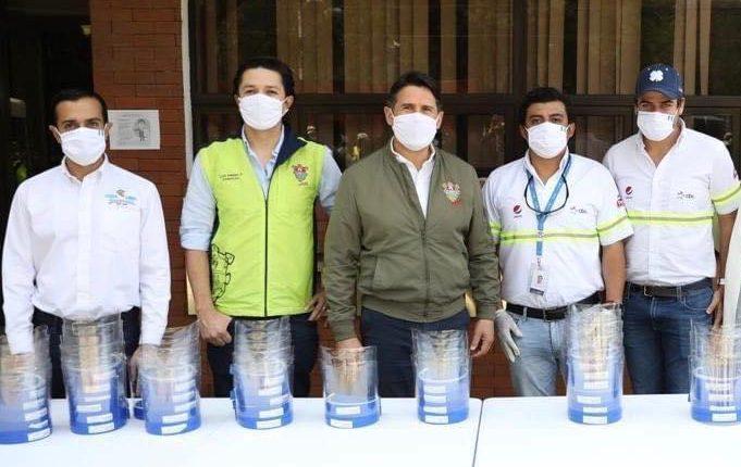 Cbc por medio de su movimiento Guatemorfosis sigue contribuyendo a la lucha contra el covid-19 en el país. Foto Prensa Libre: Cortesía