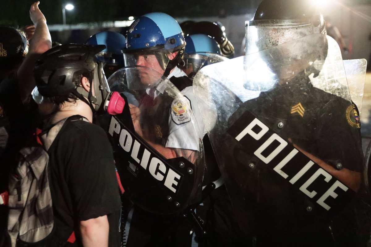 Acción policial contra manifestaciones por muerte  George Floyd genera repudio