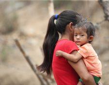La inseguridad alimentaria causa desnutrición aguda. (Foto Prensa Libre: Hemeroteca PL)