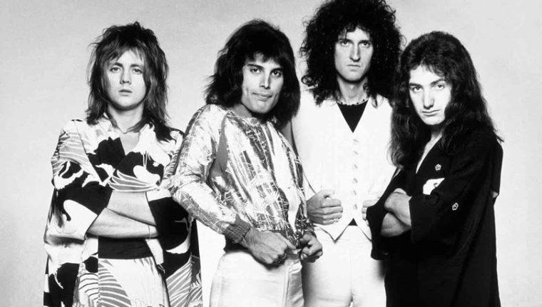 Un fin de semana estará disponible uno de los grandes conciertos en la historia de Queen.  (Foto Prensa Libre: Fb Queen).