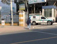 Un paciente con coronavirus de Totonicapán falleció cuando era trasladado al hospital. (Foto Prensa Libre: Leopoldo Batz)