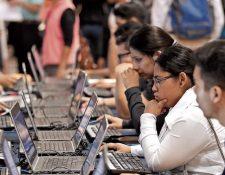 Para que los datos se consideren abiertos deben ser editables y de fácil acceso para toda la población. (Foto, Prensa Libre: Hemeroteca PL).