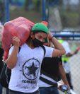 Parte de las remesas que reciben los beneficiarios en Guatemala se destinan para la adquisición de los productos de la Canasta Básica de Alimentos, según la Cepal. (Foto Prensa Libre: Hemeroteca)