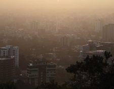 El polvo del Sahara afectó fuerte a Guatemala en el 2018. (Foto: Prensa Libre: Hemeroteca PL).