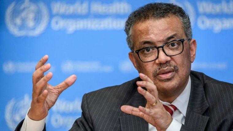 Tedros Adhanom es el primer director general de la OMS de origen africano.