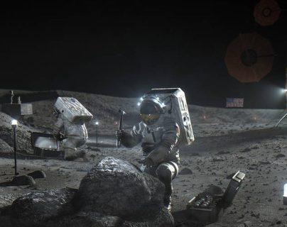 La NASA se prepara para explotar los recursos de la Luna.