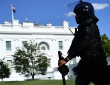 La seguridad se ha reforzado en la Casa Blanca los últimos días.