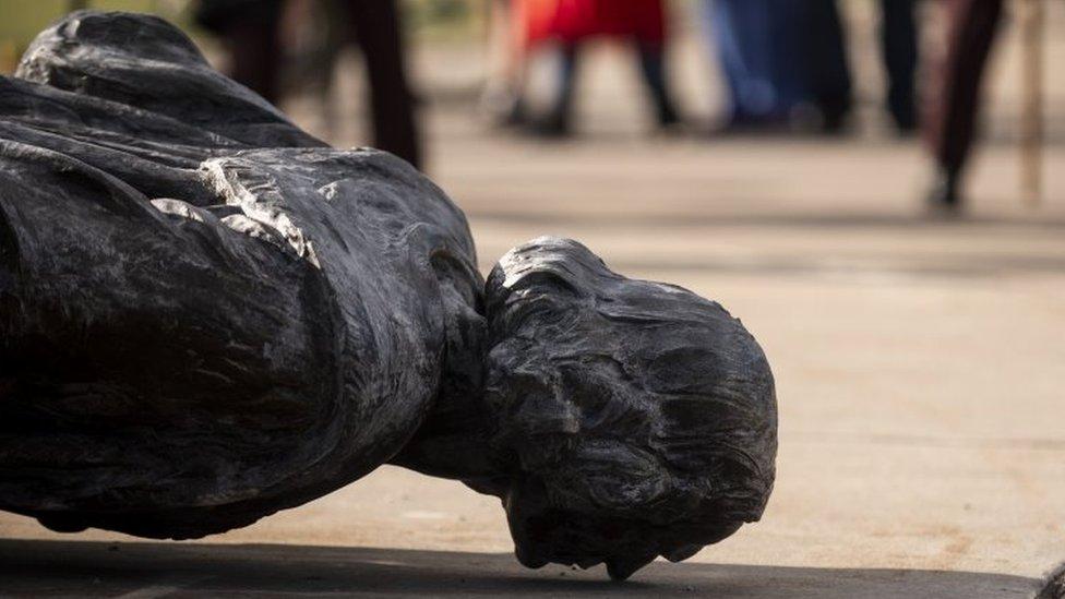 Protestas en EE. UU.: las estatuas de Colón destruidas en las manifestaciones antirracistas
