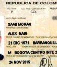 El abogado colombiano Alex Saab fue detenido este viernes.