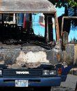 17 personas murieron entre las llamas del microbús quemado por miembros del Barrio 18 en Mejicanos el 20 de junio de 2010.