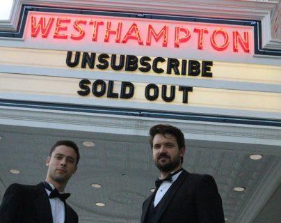 Tabach y Nilsson fueron los únicos espectadores en el estreno de su película.