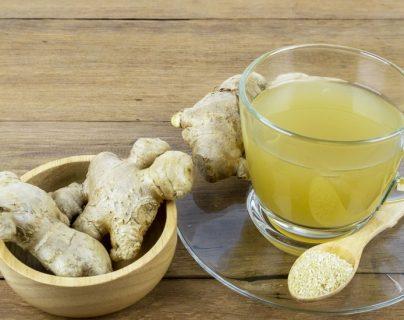 El jengibre es usado en Perú en té para tratar síntomas del resfriado o por su efecto antiinflamatorio.
