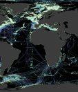 Las zonas negras del mapa aún necesitan ser sondeadas para obtener más información de ellas.