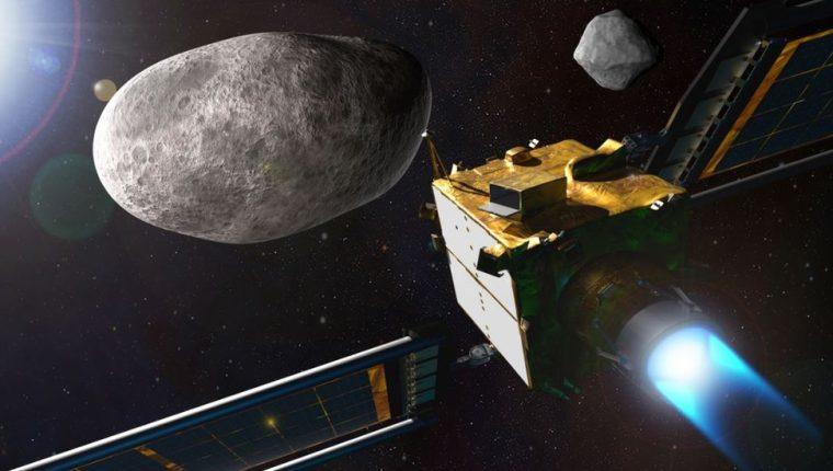La nave DART tiene la misión de estrellarse con Dimorphos.
