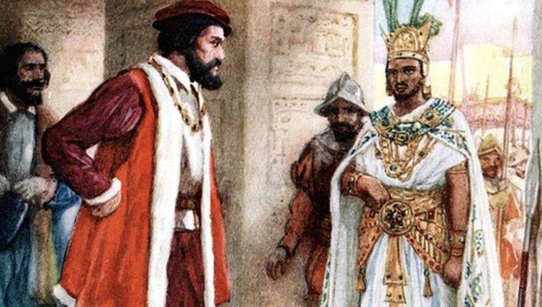 La diplomacia entre Hernán Cortés y el rey Moctezuma II solo duró unos días. GETTY IMAGES