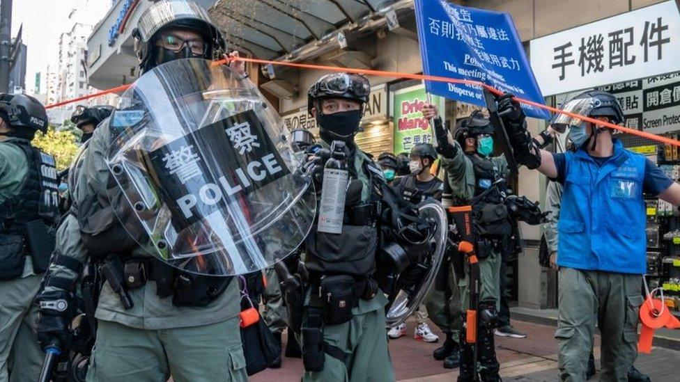 China aprueba la controvertida ley de seguridad para Hong Kong y agrava su enfrentamiento con EE.UU.