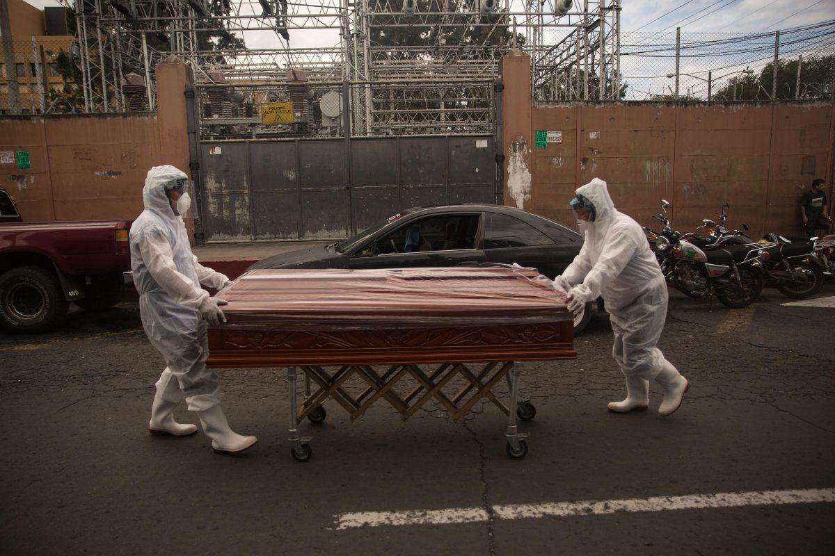Coronavirus: En junio 406 personas han muerto por covid-19 en Guatemala