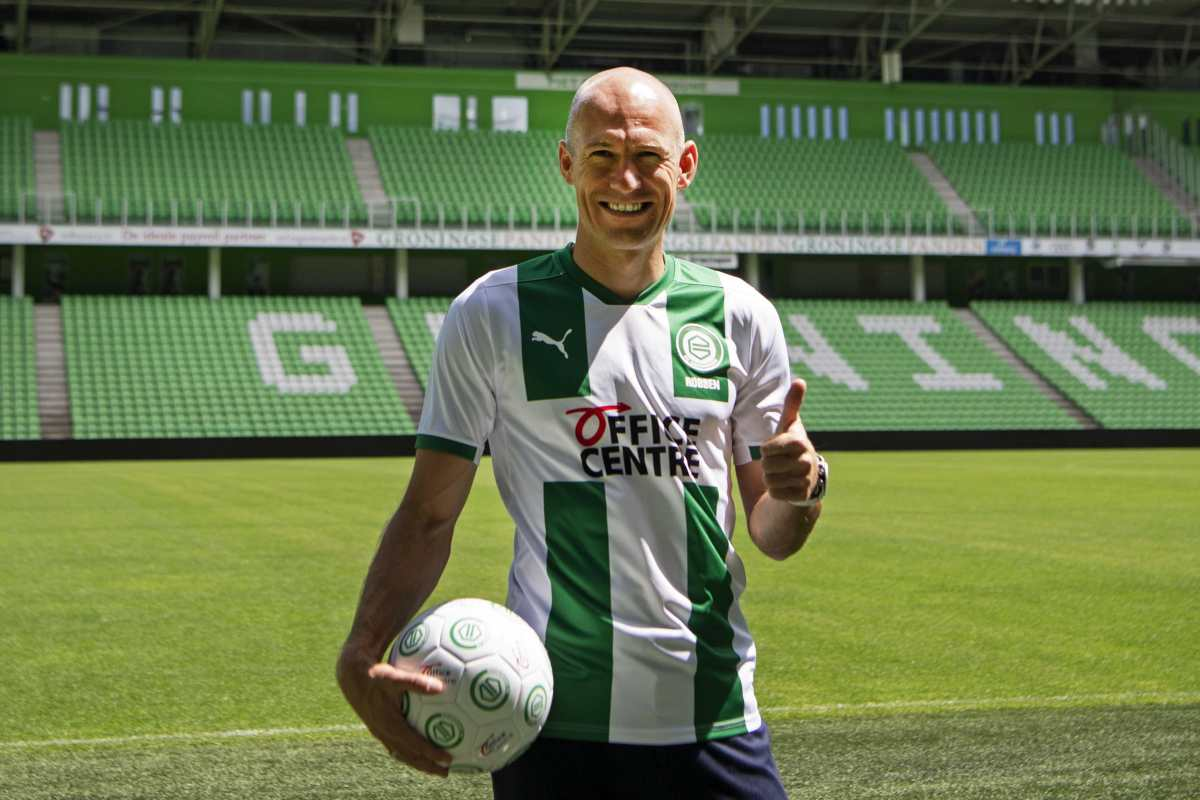 """Robben, sobre su vuelta al futbol: """"Lo hago por amor al Groningen"""""""
