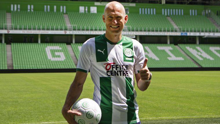 Arjen Robben comienza una nueva aventura en el futbol ahora con el equipo FC Groningen. (Foto Prensa Libre: EFE).