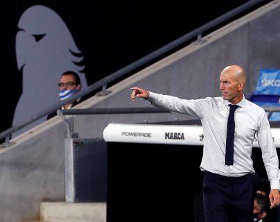 Zidane se mostró tranquilo sobre el tema de James Rodríguez. (Foto Prensa Libre: EFE)