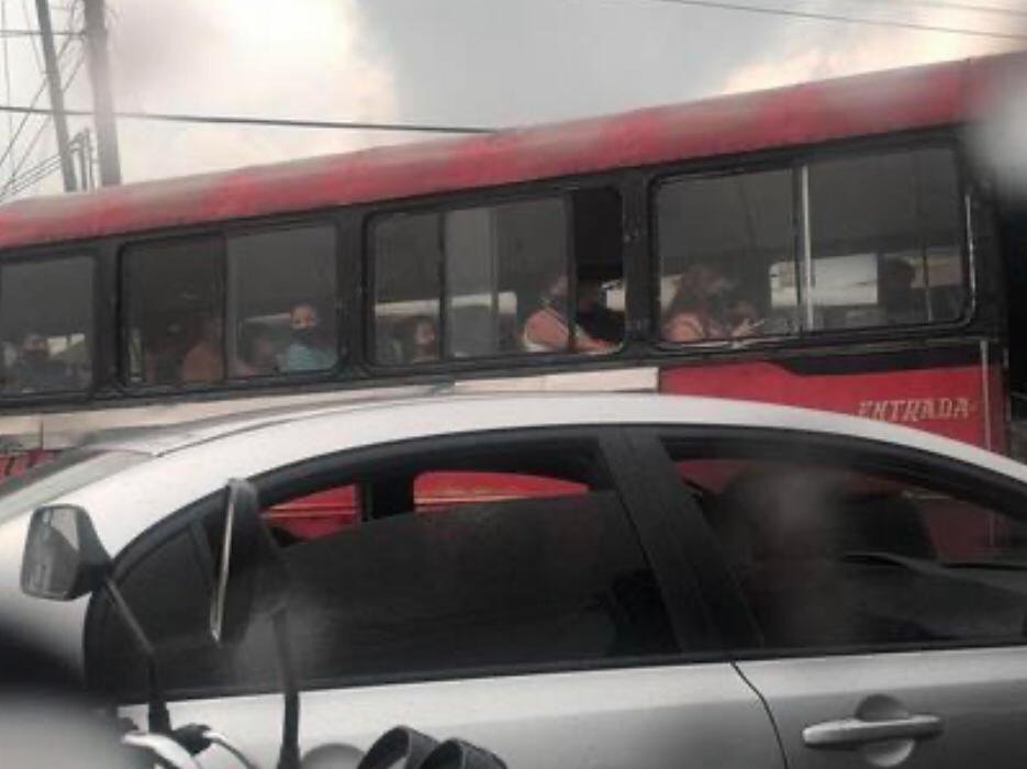 Verificamos por usted: ¿Ya circulan los buses rojos pese a la prohibición?