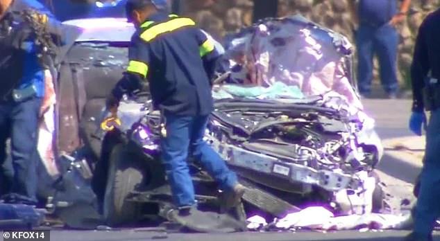 El accidente ocurrió el pasado jueves 27 de junio. (Foto Prensa Libre: KFOX-TV)