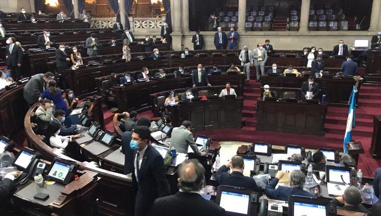Los diputados aún no elegirán a los magistrados de la CSJ y Apelaciones. (Foto Prensa Libre: José Castro)