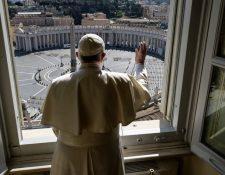 El vaticano también ha cerrado sus puertas por la pandemia. (Foto Prensa Libre:  voanoticias.com)