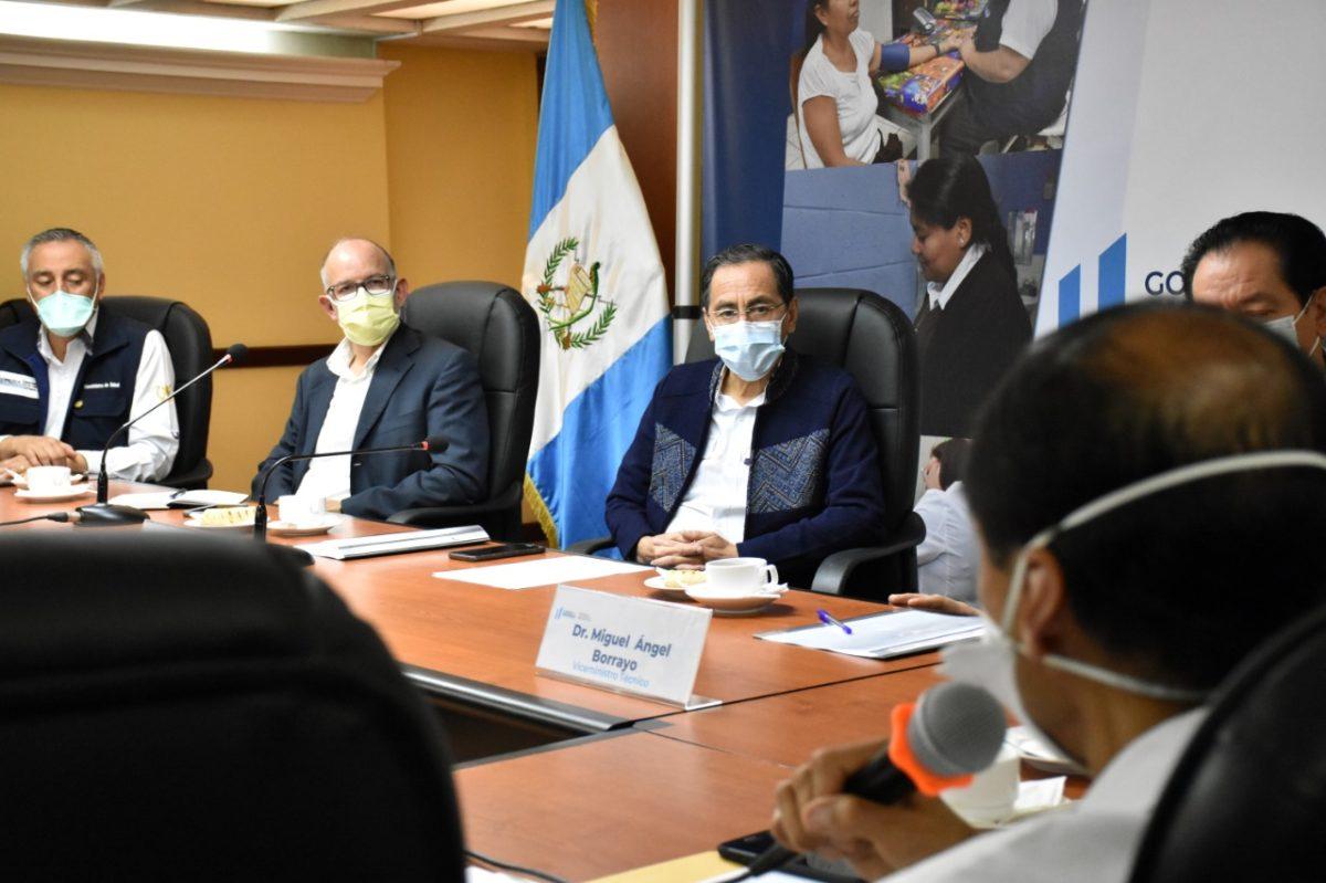 Comisión contra el covid-19 y Salud acuerdan reorganizar sistema hospitalario y aumentar capacidad para hacer pruebas