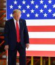 El presidente de los Estados Unidos Donald Trump casuó polémica por las declaraciones sobre los indicadores de la economía. (Foto Prensa Libre: AFP)