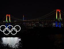 La incertidumbre continúa en la organización de los Juegos Olímpicos de Tokio. (Foto Prensa Libre: AFP)