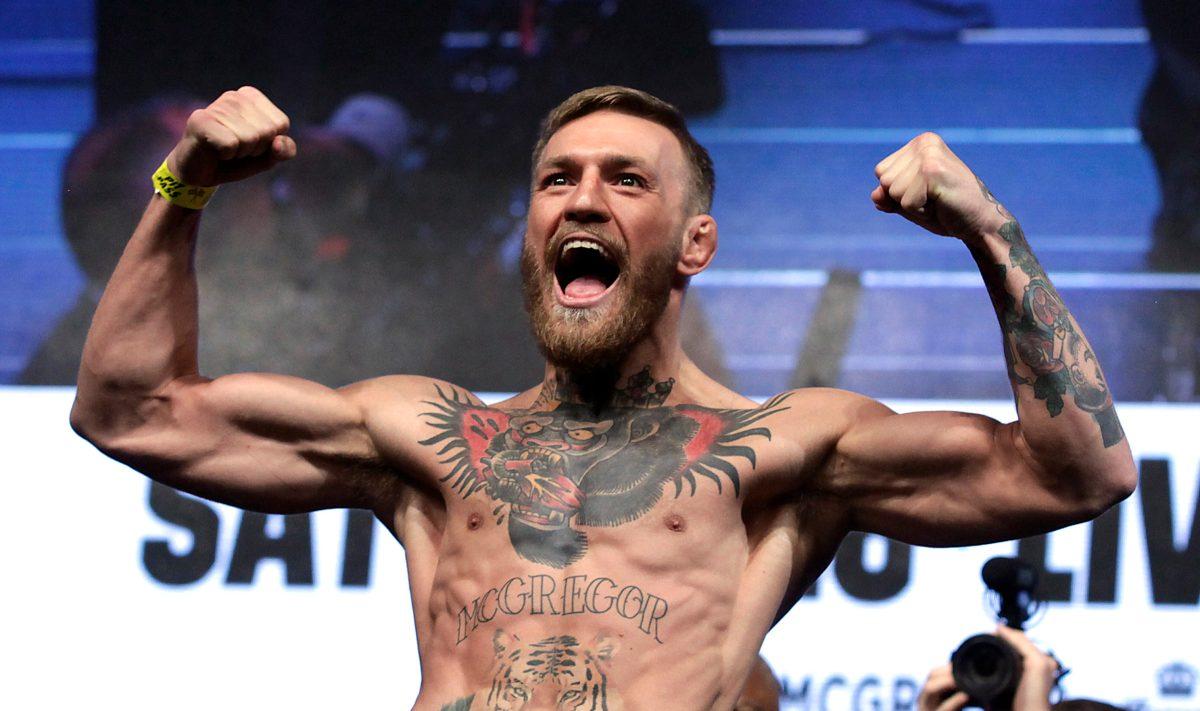 El luchador Conor McGregor anuncia su retiro por tercera vez