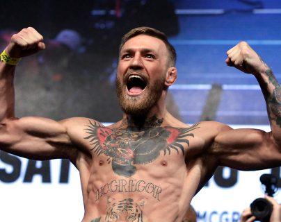El luchador Connor McGregor anunció su retiro este sábado. (Foto Prensa Libre: AFP)
