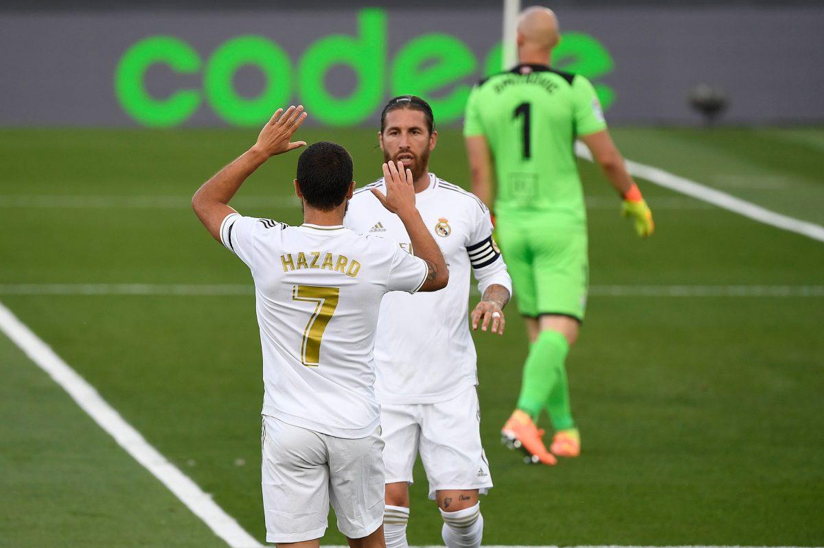 El gran regreso de Eden Hazard con el Real Madrid
