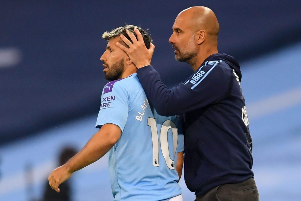 """Pep Guardiola antes de su despedida: Sergio Agüero es """"un león en la jungla"""""""