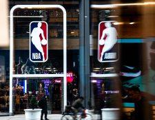 La NBA tiene planeado regresar a finales de julio. (Foto Prensa Libre: AFP)