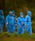 Los casos de coronavirus siguen creciendo en Honduras y los críticos cuestionan los datos oficiales. (Foto Prensa Libre: AFP)