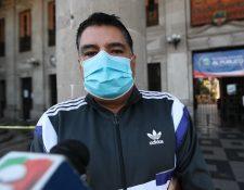 Gerson López Rodas, trabajó en la Anam y ahora asesora a la Municipalidad de Quetzaltenango. (Foto Prensa Libre: María Longo)