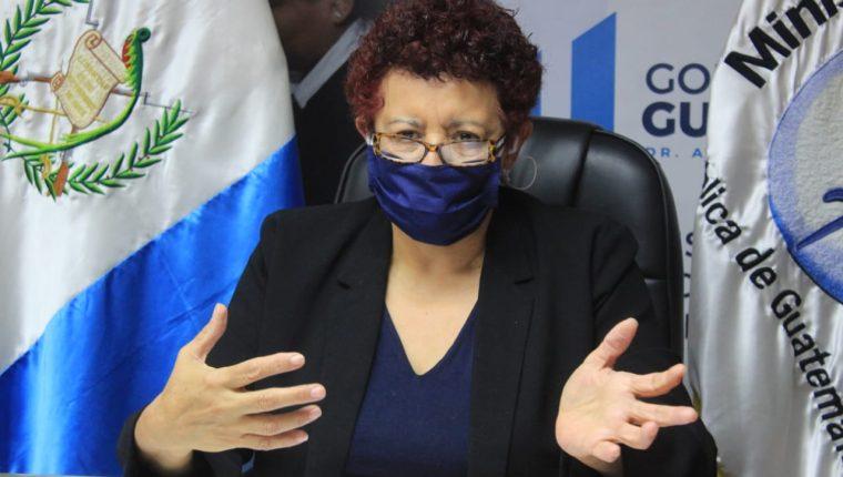 El relevo de Amelia Flores  por Hugo Monroy en el Ministerio de Salud no mejoró la percepción de la ciudadanía con la gestión gubernamental sobre el coronavirus. (Foto Prensa Libre: Hemeroteca PL)