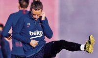 Antoine Griezmann no termina de convencer a los aficionados del Barcelona. (Foto Prensa Libre: Hemeroteca PL)