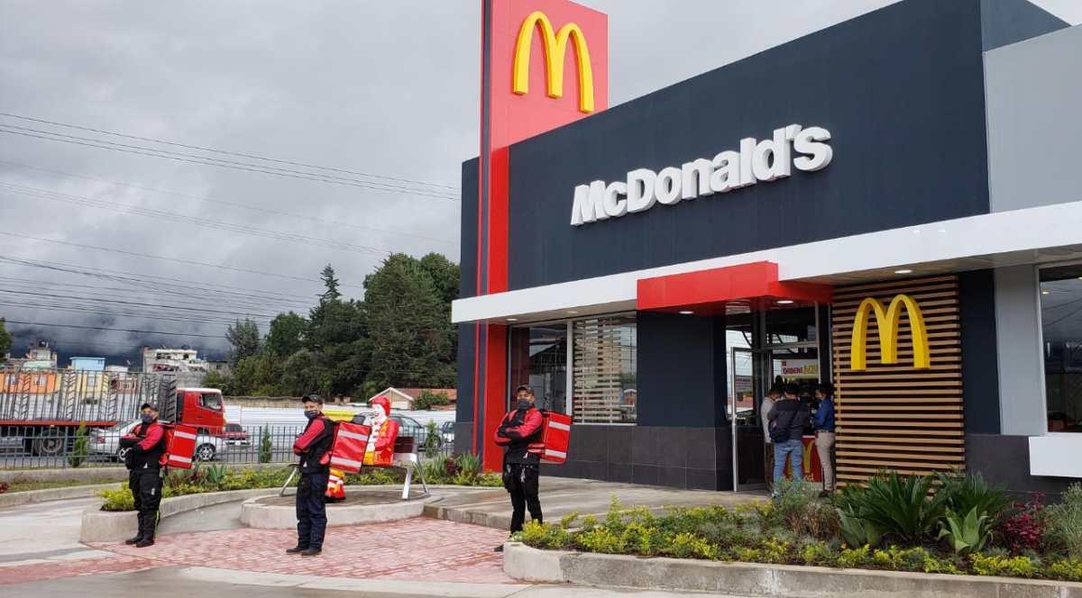 McDonald's abre séptimo restaurante en Quetzaltenango
