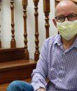 El doctor Edwin Astrurias fue nombrado el pasado 3 de junio como director de la Coprecovid.