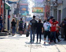Casi 158 mil beneficiarios en Huehuetenango ya recibieron el Bono Familia. El departamento occidental es uno de los que tiene más usuarios subsidiados. (Foto Prensa Libre: Mike Castillo)