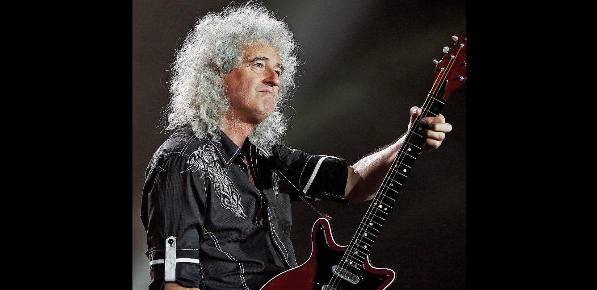 """Brian May supera a su """"ídolo"""" Jimi Hendrix y es elegido como el mejor guitarrista de todos los tiempos"""