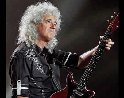 Brian May ha sido consagrado como el mejor guitarrista de todos los tiempos. (Foto Prensa Libre: Hemeroteca PL)