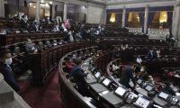Congreso luce con pocos diputados para discutir las prórrogas a los estados de Calamidad. (Foto Prensa Libre: Hemeroteca PL)