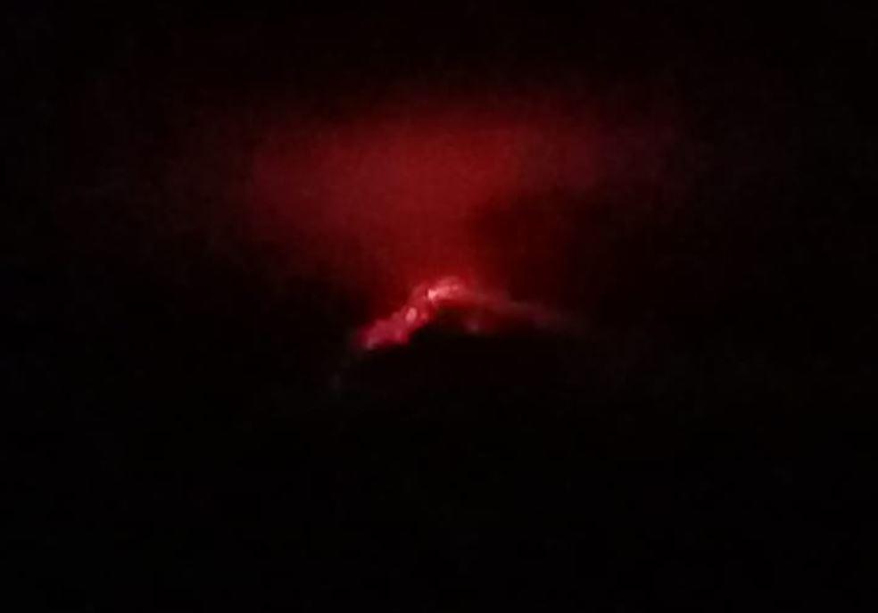 Explosiones en los volcanes de Fuego y Pacaya causan alarma