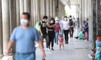 El uso de la mascarilla es obligatorio para evitar el contagio del coronavirus.  Fotograf'a. Erick Avila:              24/06/2020