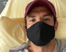 El tenista Dimitrov dio positivo por coronavirus. (Foto Prensa Libre: Instagram @grigordimitrov)