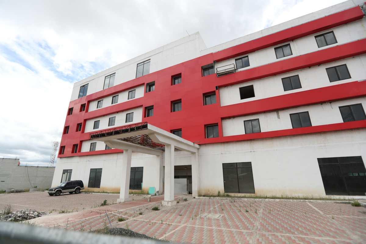 Amparo frena que Senabed firme convenio para que edificio extinguido a Manuel Baldizón sea utilizado como albergue para pacientes con coronavirus